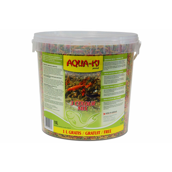 AQUA-KI STICKS MIX 3 COLOURS 5 L+ 0,5 L FREE